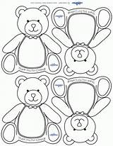 Teddy Bear Thank Printable Printables Shower Cards Coloring Pages Bears Picnic Templates Coolest Template Theme Birthday Clipart Showers Boy Babies sketch template