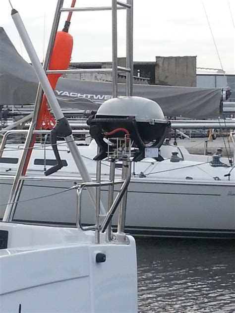 Boat Grill Holder by Bbq Myhanse Hanse Yachts Owners Forum