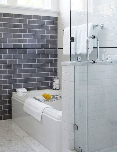 30 pictures of tub surround with subway tile