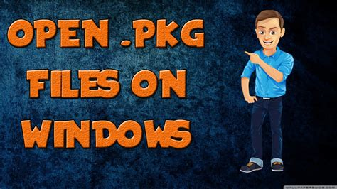 How To Extract Pkg Files On Windows Tech Sonic Youtube