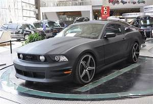 Matte-black Ford Mustang in China - CarNewsChina.com