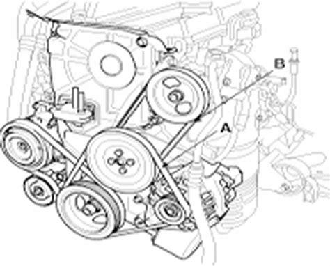 Accent Belt Diagram by Squeaky Power Steering Belt 2007 Hyundai Accent Cartalk