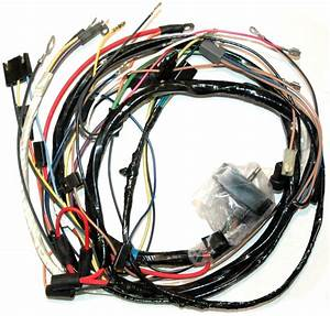 1974 Corvette Wiring Harness  350 Engine  Manual
