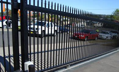commercial gates brisbane automatic electric security