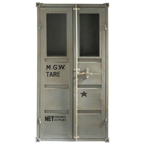 vitrine container carlingue maisons du monde