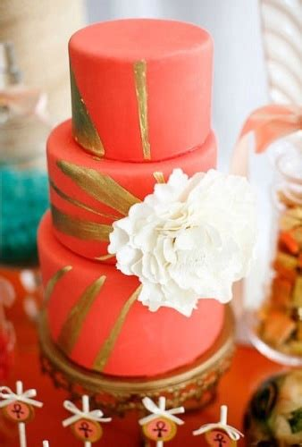 wedding  colors coral  gold arabia weddings