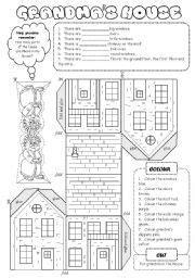 english exercises house  winnie  pooh english