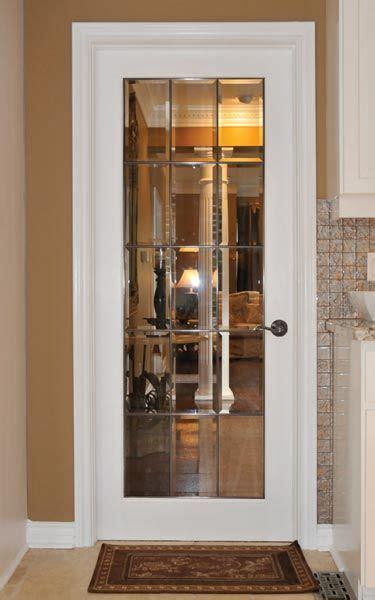 distinctive interiors elegant clear beveled glass french
