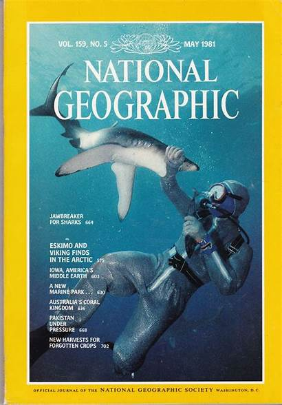 Geographic National Magazine Covers 1981 Myshopify Collectibles