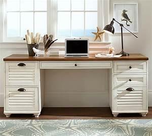 pottery barn home office furniture sale 30 off desks With barn board office desk