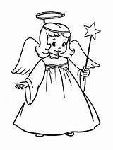 Coloring Angel Christmas Pages Costume Drawing Charming Tiny Angle Printable Drawings Template Line Colouring Angels Sheets Female Costumes Cherub Clipartmag sketch template