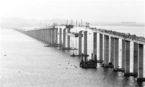 sete curiosidades sobre  ponte rio niteroi jornal  globo