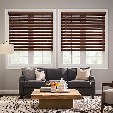 real simple blinds real simple 174 cordless faux wood blinds www