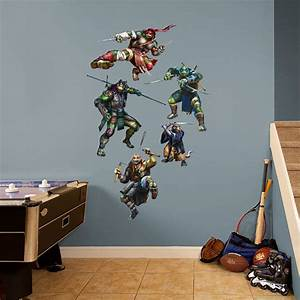 teenage mutant ninja turtles movie collection wall decal With awesome ninja turtle wall decals
