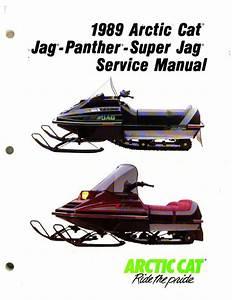 1989 Arctic Cat Jag Jag Deluxe Panther Super Jag