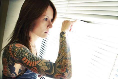 potret kecantikan wanita wanita yakuza  bikin