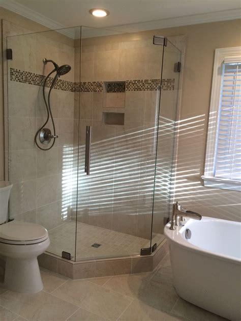 shower  stand  tub mia shower doors pinterest
