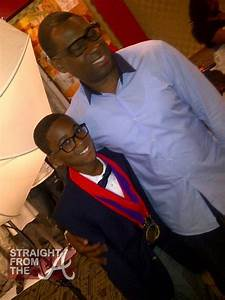 Kile and Ryan Glover (father)