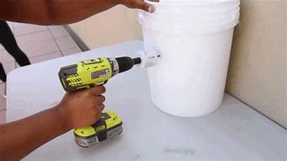 Air Conditioner Diy Hole Bucket Cool Saw