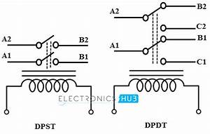 electromechanical relay With terminal relay dpdt