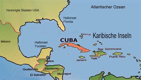 karte von kuba  medienwerkstatt wissen
