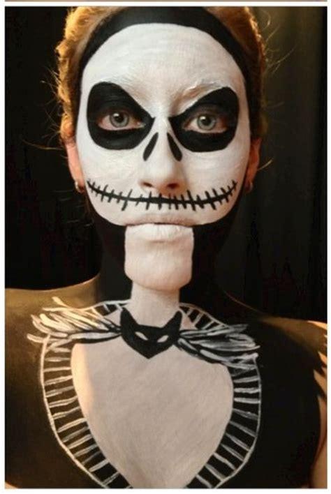 Maquillage Squelette Se Maquiller En Squelette Pour