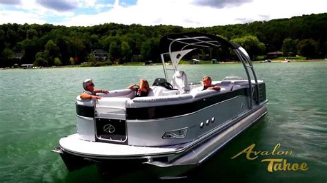 Four Rivers Layout Boat For Sale by 2014 Pontoon Boats For Sale Experience Avalon