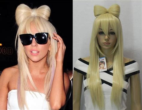 Celebrity Hairstyles Costume Lady Gaga's Hairstyle Long