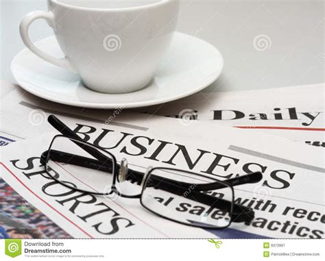 Check out our newspaper and coffee selection for the very best in unique or custom, handmade pieces from our shops. Business Newspaper And A Cup Of Coffee Stock Image - Image of media, tabloid: 9373997
