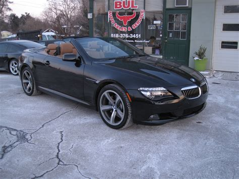 Bmw 650i For Sale by 2009 Bmw 6 Series 650i Convertible Black On Brown Sport
