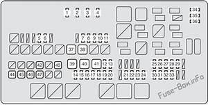 Fuse Box Diagram Toyota Tundra  Xk50  2007