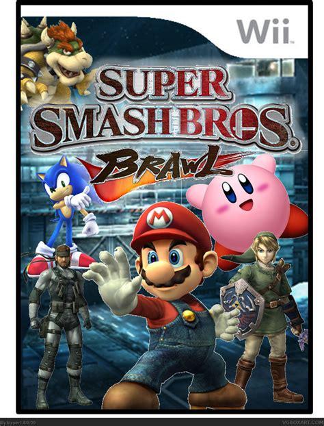 Super Smash Bros Brawl Box Cover Comments Lzk Gallery