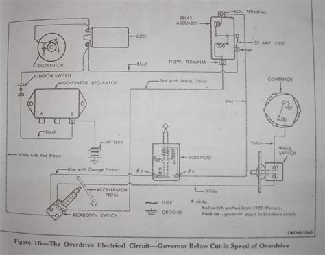 1955 Thunderbird Overdrive Wiring Diagram by R10 Overdrive Issue Page 3 The Ford Barn