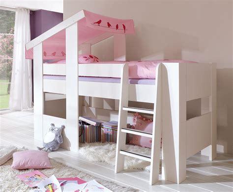 chambre fille avec lit mezzanine lit mezzanine original trendy lit fille intgr pour