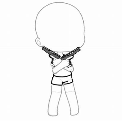 Gacha Poses Anime Gachalife Desenhos Base Chibi