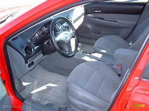 Gray Interior 2005 Mazda Mazda6 S Sport Hatchback Photo