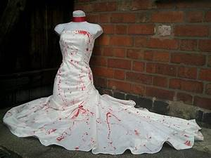 halloween zombie bride dress costume blood by With bloody wedding dress
