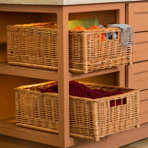 standing wicker storage baskets  hafele kitchensourcecom