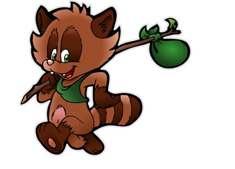 Image Without Background Clipart Happy Tanuki 2 Without Background