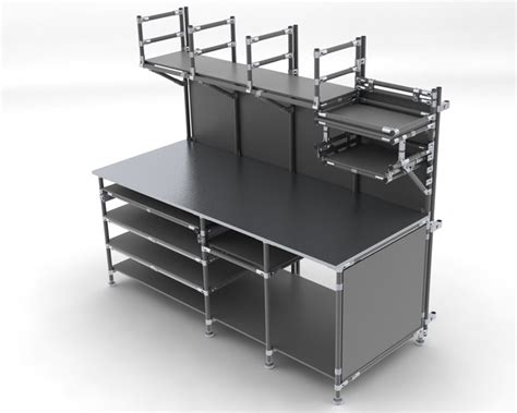 Workstations Flowtube  Ee  Work Ee   Benches Ergonomic Lean