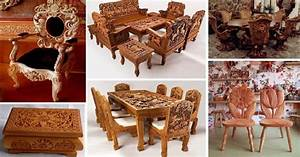 Most, Beautiful, Handmade, Wooden, Furniture, Ideas, That, Are