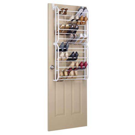 the door organizer walmart whitmor 24 pair the door shoe rack walmart