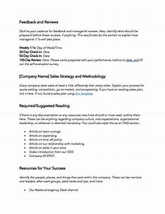 New Hire Training Plan Template Free Sales Training Template 30 60 90 Day New Hire Plan