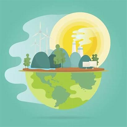 Warming Global Vector Environmental Effect Conservation Freepik