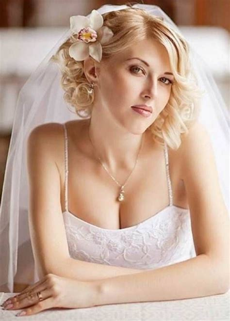 Wedding Hairstyles For Short Hair With Veil МОДА СТИЛЬ