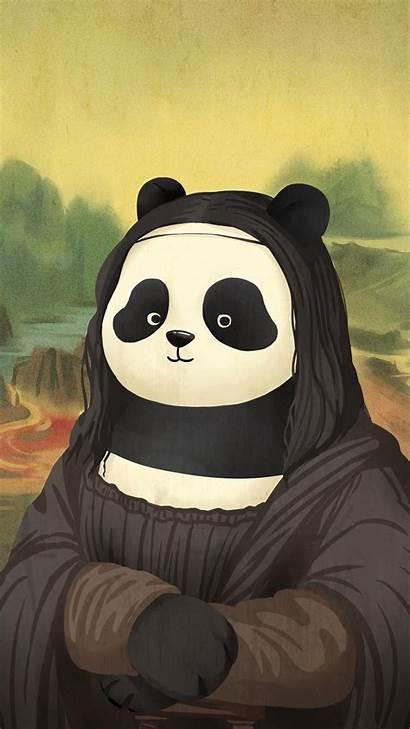 Panda Funny Kawaii Hello Wallpapers Backgrounds Disney