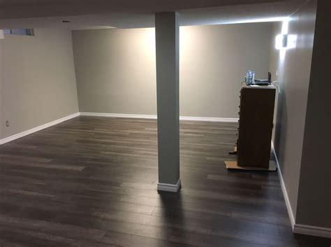 basement flooring lmc construction  carpentry
