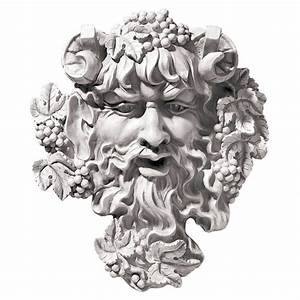 Bacchus Wall Sculpture Medium OS6212M Design Toscano