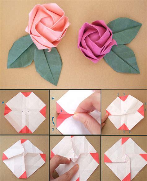 papier falten blume papierfaltkunst origami freshouse