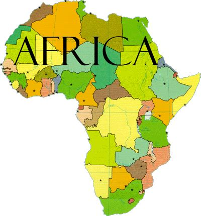 How Many Countries In Africa?  7 Continents 1 Globe